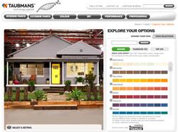 Taubmans paints interior exterior lonsdale paints for Taubmans exterior paint colours